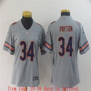 Women Bears #34 Walter Payton Jersey